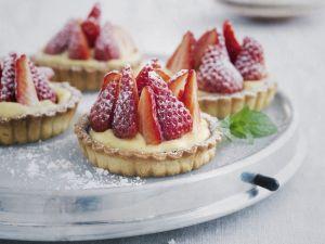 Berry and Custard Tarts recipe
