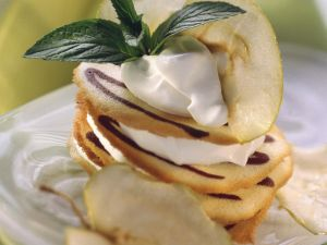 Biscuit and Apple Stacks recipe