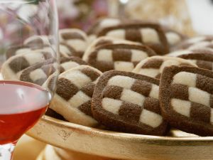 Black and White Checkerboard Cookies recipe