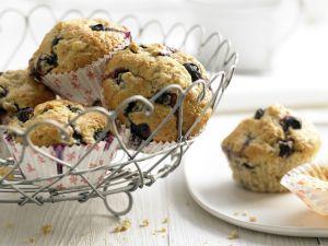 Blueberry Banana Muffins recipe