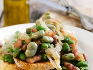 Bruschetta with Broad Beans recipe