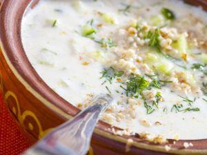 Bulgarian Cold Yogurt and Cucumber Soup recipe