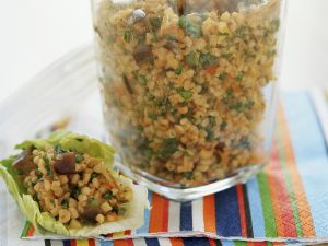 Bulgur Salad with Tomatoes recipe