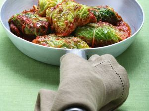 Cabbage Parcels with Tomato Sauce recipe