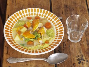 Cabbage Soup with Smoked Haddock recipe
