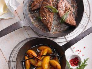 Calf's Liver with Calvados recipe