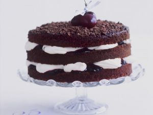 Celebration Cherry and Chocolate Cake recipe