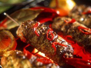 Cevapcici (Seasoned Ground Beef Rolls) recipe