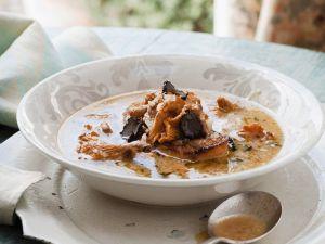 Chanterelle Soup with Truffles recipe