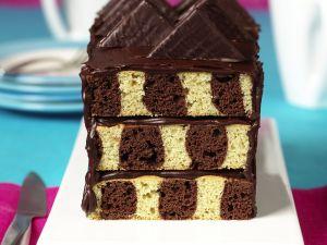Checkerboard Loaf Cake recipe