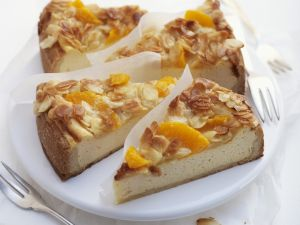 Cheesecake with Oranges recipe