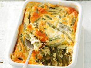 Cheesy Green Bean Bake recipe