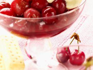 Cherries with Quark Cream recipe