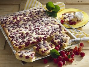 Cherry Cake with Marzipan recipe