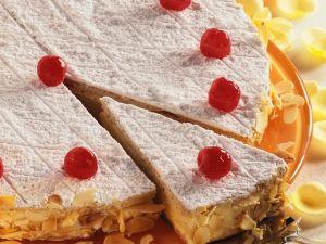 Cherry Meringue Cake recipe