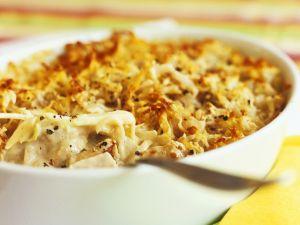 Chicken and Parmesan Pasta Bake recipe