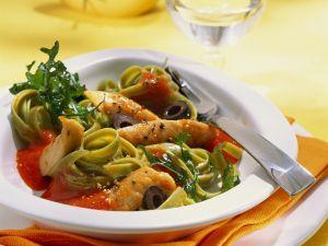 Chicken and Pepper Pasta recipe