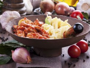 Chicken and Tomato Fricassee recipe