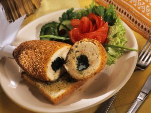 Chicken Breast Stuffed with Dill and Plum Butter recipe