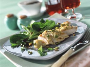 Chicken Breast with Pistachio Crust recipe