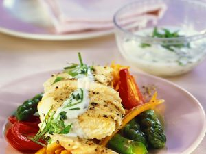 Chicken Breast with Vegetables recipe