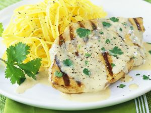 Chicken Breasts with Cream Sauce recipe