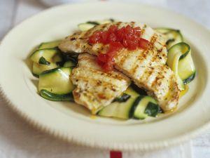 Chicken Escalopes with Zucchini recipe