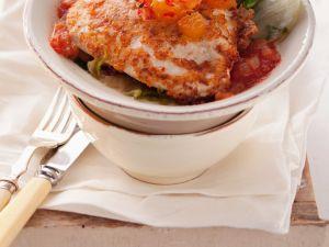 Chicken Piccata with Tomato Sauce recipe