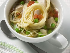 Chicken Soup with Noodles recipe