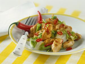 Chicken with Chinese Cabbage recipe