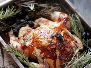 Chicken with Rosemary and Olives recipe