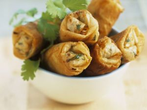 Chinese Veggie Wrappers recipe