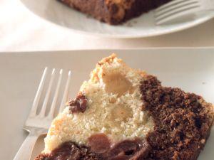 Chocolate Cherry Marzipan Marble Cake recipe