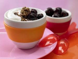 Chocolate-Cherry Quark recipe