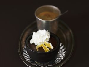 Chocolate Mousse with Candied Ginger recipe