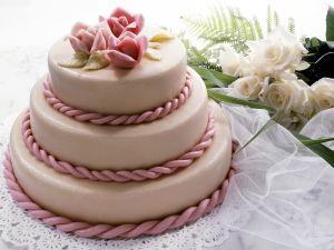 Brown Rice, Almond and Honey Celebration Cake recipe