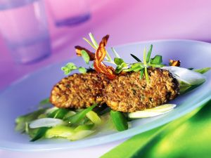 Chopped Liver Steaks with Scallions recipe