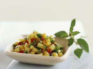 Chopped Tropical Fruit Salad recipe