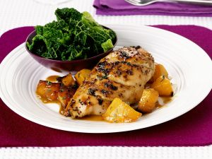 Citrus Chicken with Vegetables recipe