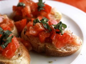 Classic Italian Tomato Toasts recipe
