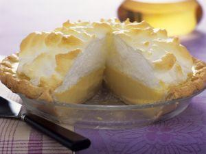 Classic Lemon Pie with Meringue Topping recipe