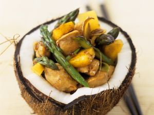 Coconut and Chicken Stir-fry recipe