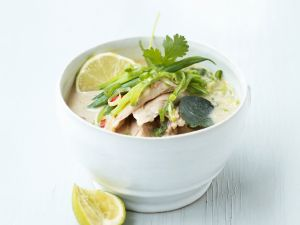 Coconut Milk Soup with Chicken recipe