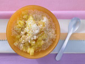 Coconut Muesli with Pineapple recipe