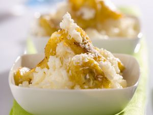 Coconut Rice with Fried Bananas recipe