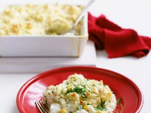 Fish and Mashed Potato Casserole recipe