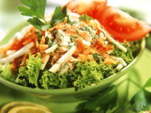Colorful Celery and Carrot Crudité recipe