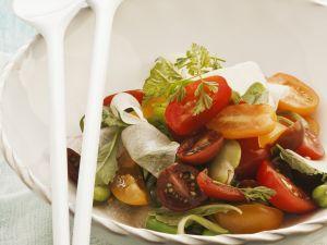 Colorful Tomato Salad recipe
