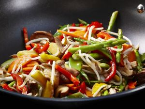Colorful Vegetable Stir-fry recipe