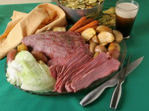 Corned Beef and Cabbage, Carrots and Potatoes recipe